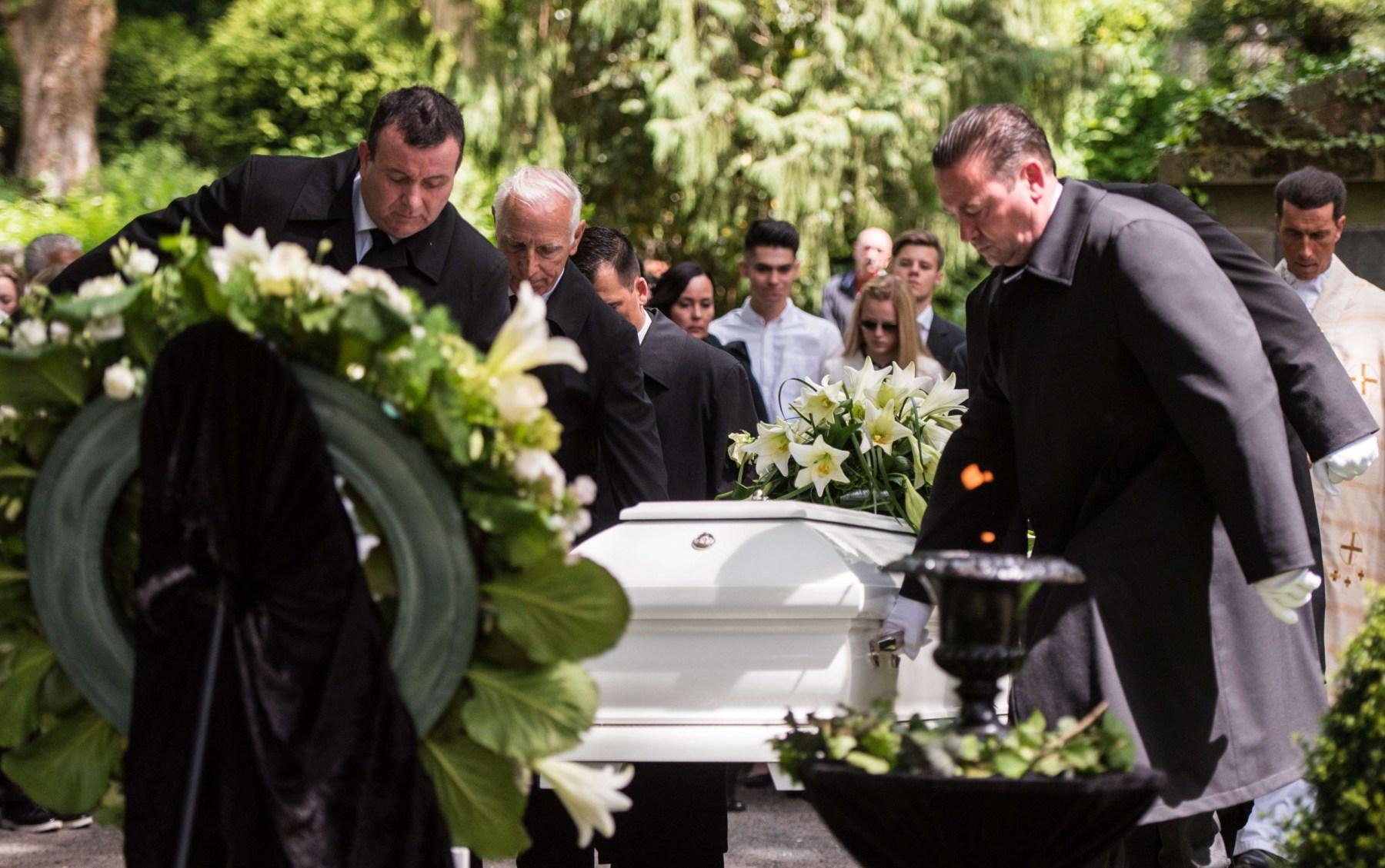 Trauerfeier und Beisetzung von Niklas P..